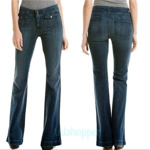 7 For All Mankind Erin Flare Jeans 28 NWT